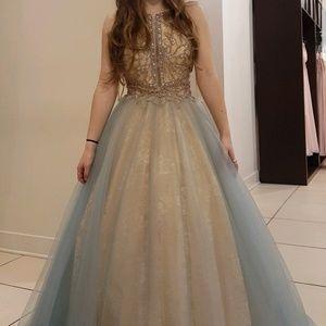 USED Camille La Vie Ballgown Size 4
